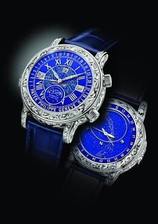 Patek Philippe's Grand Complications watch. Ref. 6002G. (Courtesy Patek Philippe)