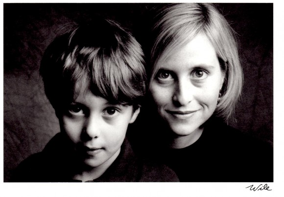 Mayor Megan Barry with her son Max as a young child. (Courtesy Mayor's Office)