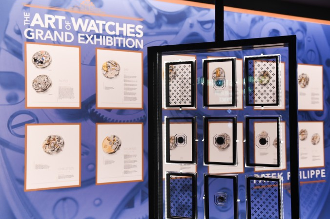 """The  Movement Room of """"The Art of Watches Grand Exhibition"""" of Patek Philippe in New York in July 2017. (Courtesy of Patek Philippe)"""