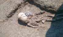 2,000-Year-Old Skeleton of Toddler With Elongated Skull Found in Russia