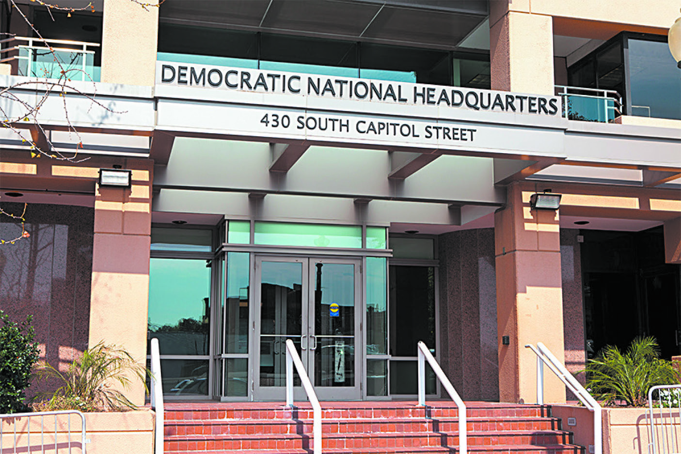 The Democratic National Committee headquarters in Washington on Sept. 10, 2016. (MARK VAN SCYOC/SHUTTERSTOCK)