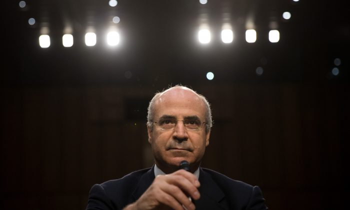 William Browder, CEO of investment fund Hermitage Capital Management, testifies at a Senate judiciary hearing on July 27. (Drew Angerer/Getty Images)
