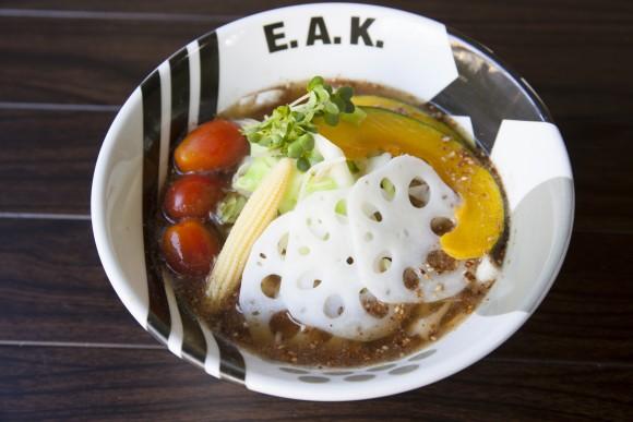 Vegan Cold Ramen at E.A.K. Ramen. (Courtesy of E.A.K. Ramen)