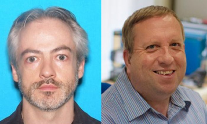 Chicago police have issued warrants for Northwestern University professor Wyndham Lathem (L), and University of Oxford employee Andrew Warren (R) in connection with the murder of Trenton Cornell-Duranleau. (Chicago Police Department)