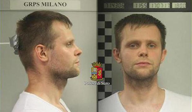 Lukasz Pawel Herba is a suspect in the alleged kidnapping (Italian Police)