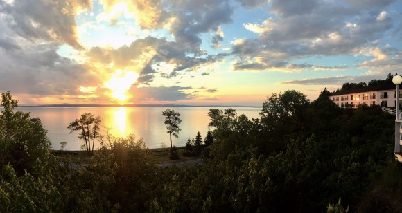 The Rivière-du-Loup region is known for its breathtaking sunsets. (Janna Graber)