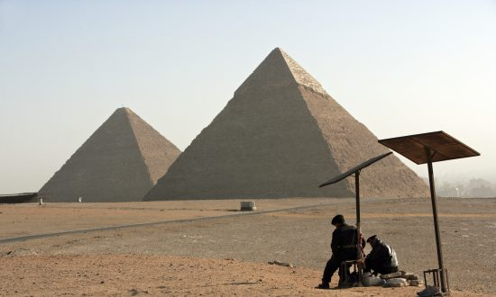 Cosmic Particles Reveal Hidden Rooms in the Great Pyramid of Giza