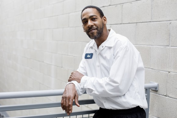 Mark England, a mixer at Greyston Bakery. (Samira Bouaou/The Epoch Times)