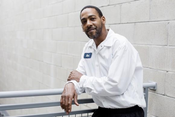 Mark England, a mixer at Greyston Bakery. (Samira Bouaou/The Epoch Times)