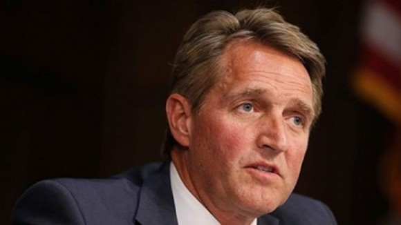 Senator Jeff Flake, March 21, 2017.  (REUTERS/Joshua Roberts)