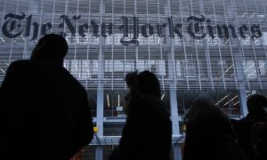 New York Times Tops President Trump's Fake News List