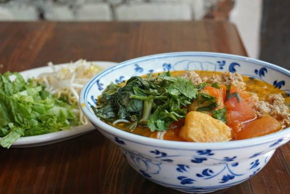 Hanoi House's crab tomato soup. (Sydney Yorkshire)