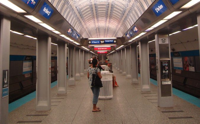 Jackson Station in Chicago subway. (Will [CC BY-SA 2.0 -  https://goo.gl/OOAQfn via Wikimedia Commons)