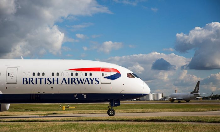 British Airways aircraft at Heathrow Airport  in London, England. (Photo by Jack Taylor/Getty Images)