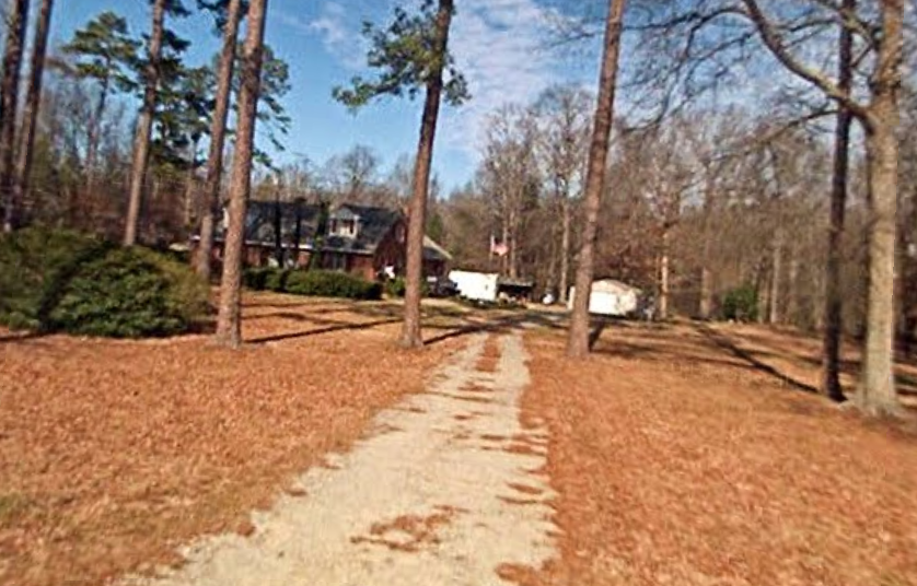 The home at 980 Fishing Creek Road in Whitakers, North Caroline, where the murders occurred. (Google Maps)