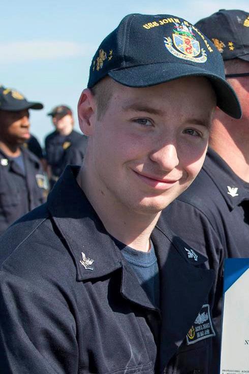 Electronics Technician 2nd Class Jacob Daniel Drake, 21, from Ohio (Courtesy photo)
