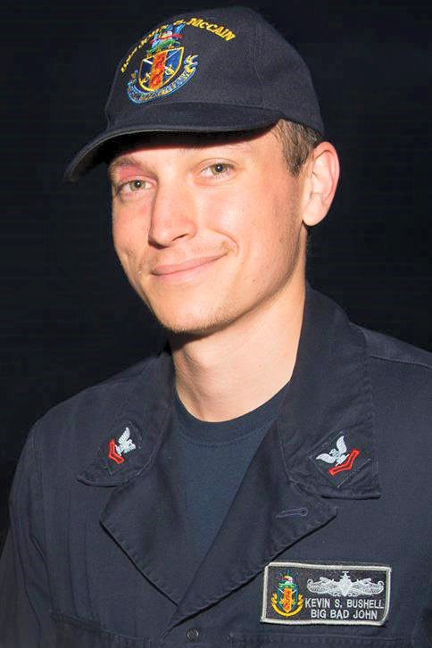 Electronics Technician 2nd Class Kevin Sayer Bushell, 26, from Maryland (Courtesy photo)