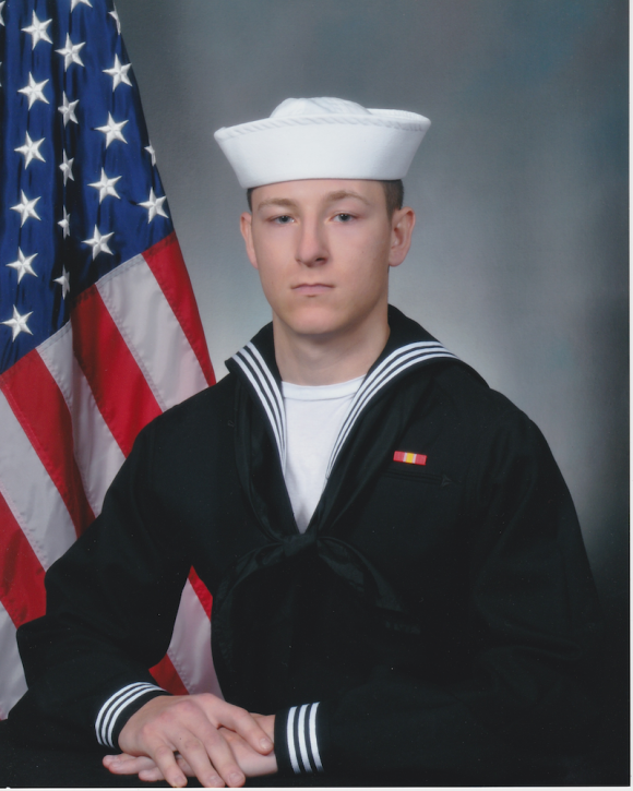 Electronics Technician 3rd Class Kenneth Aaron Smith, 22, from Cherry Hill, New Jersey (Courtesy Photo)