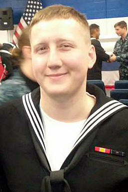 Interior Communications Electrician 3rd Class Logan Stephen Palmer, 23, from Illinois (Courtesy photo)