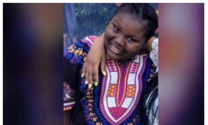Jamoneisha Merritt suffered burns to 85 percent of her body after another young girl poured scalding water on her at a sleep over. (Family handout  via GoFundMe)