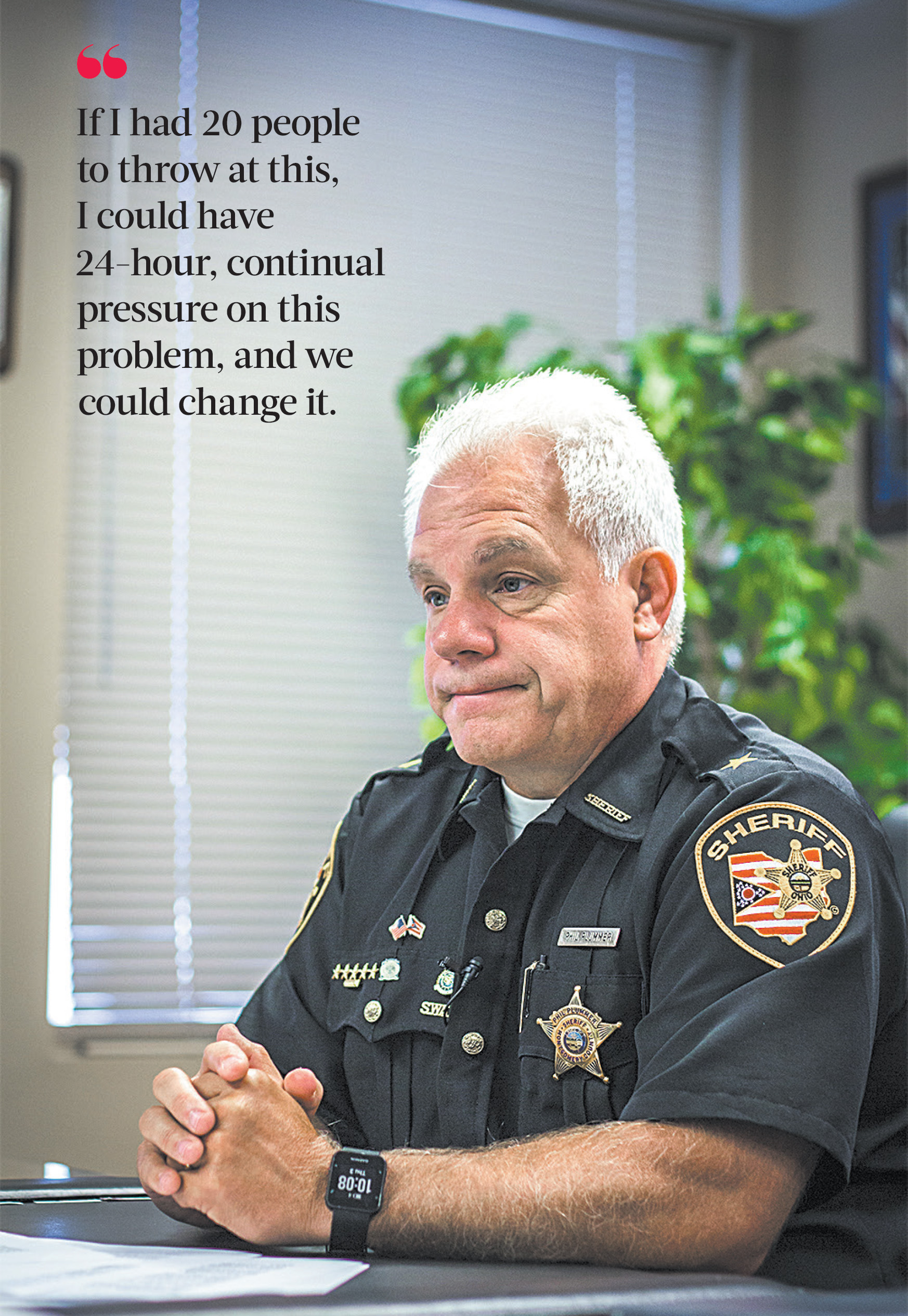 An Addicted County and a Sheriffs Cry for Help