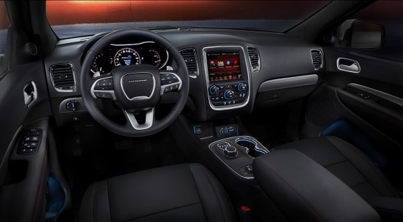 The interior of the 2017 Durango. (Courtesy of Chrysler Dodge)