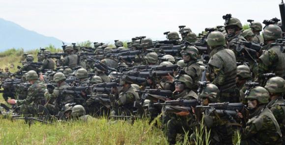 North Korean commandos. (North Korean State Media)