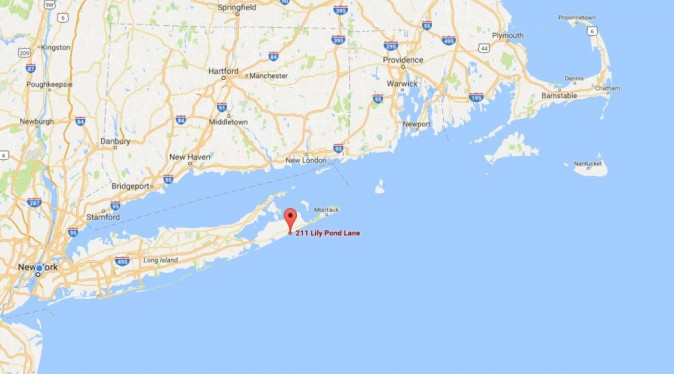 The Clintons' summer vacation house sold for $29 million after it was sitting under contract for two years, according to the Wall Street Journal. (Google Maps)