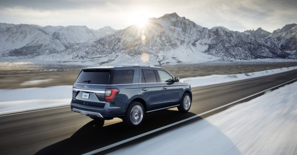 The back view of the 2018 Expedition. (Courtesy of Ford)