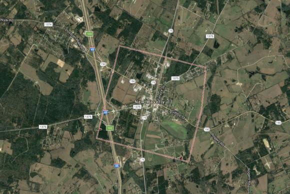 New Waverly, Texas (Google Maps)