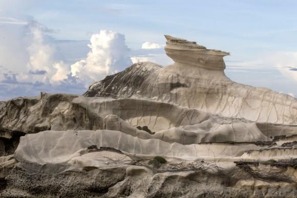 The Kapurpurawan Rock Formation in Burgos. (Mohammad Reza Amerinia)