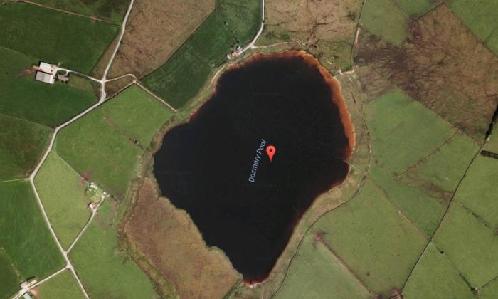 Dozmary Pool, United Kingdom. (Screenshot via Google Maps)