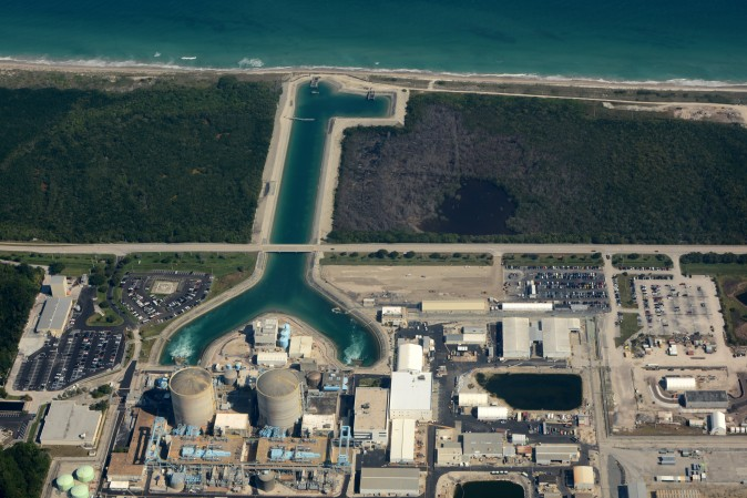 St. Lucie Nuclear Power Plant in Jensen Beach, Fla., on Nov. 14, 2014. (Don Ramey Logan Jr./CC BY-SA 4.0)