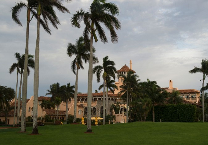 The Mar-a-Lago Club in Palm Beach, Florida. (DON EMMERT/AFP/Getty Images)