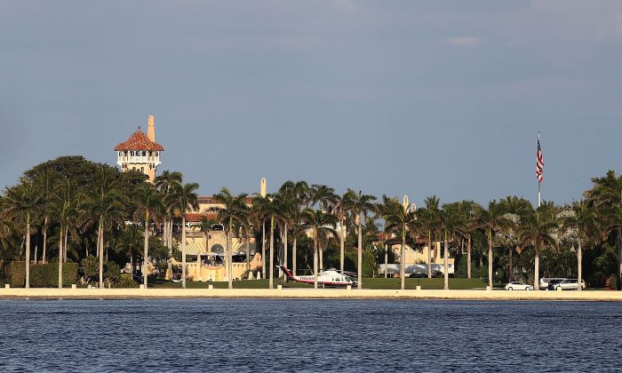 The Mar-a-Lago Resort on April 8, 2017 in Palm Beach, Florida. (Joe Raedle/Getty Images)