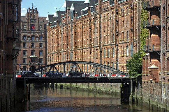 One of Hamburg's numerous bridges. (Hamburg Marketing)