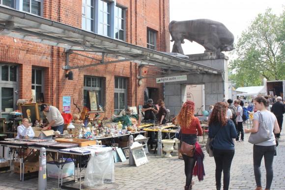 Flea market in Schanzenviertel. (Wibke Carter)