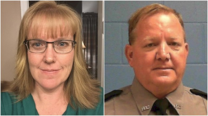Hardee County Sheriff's Office Deputy Julie Bridges and Department of Corrections Sergeant Joseph Ossman (Facebook)