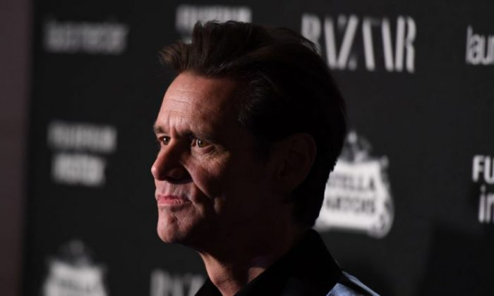 Jim Carey attends Harper's BAZAAR Celebration of 'ICONS on September 8, 2017 in New York City. (Angela Weiss/AFP/Getty Images)