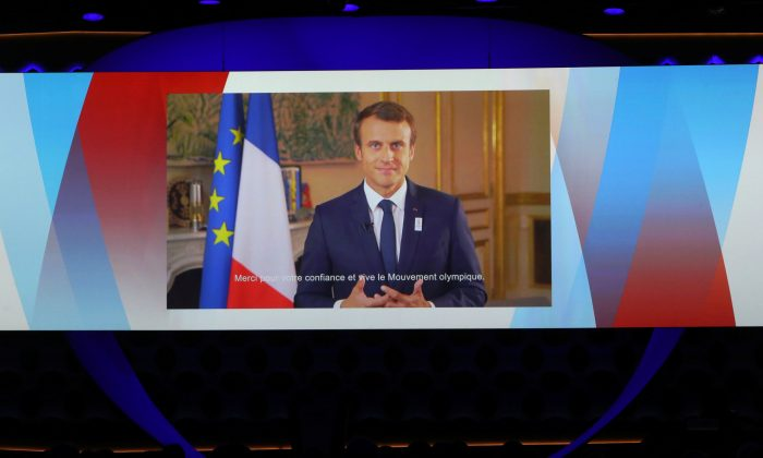 Macron sets out ambitious blueprint for European Union reform including a joint budget