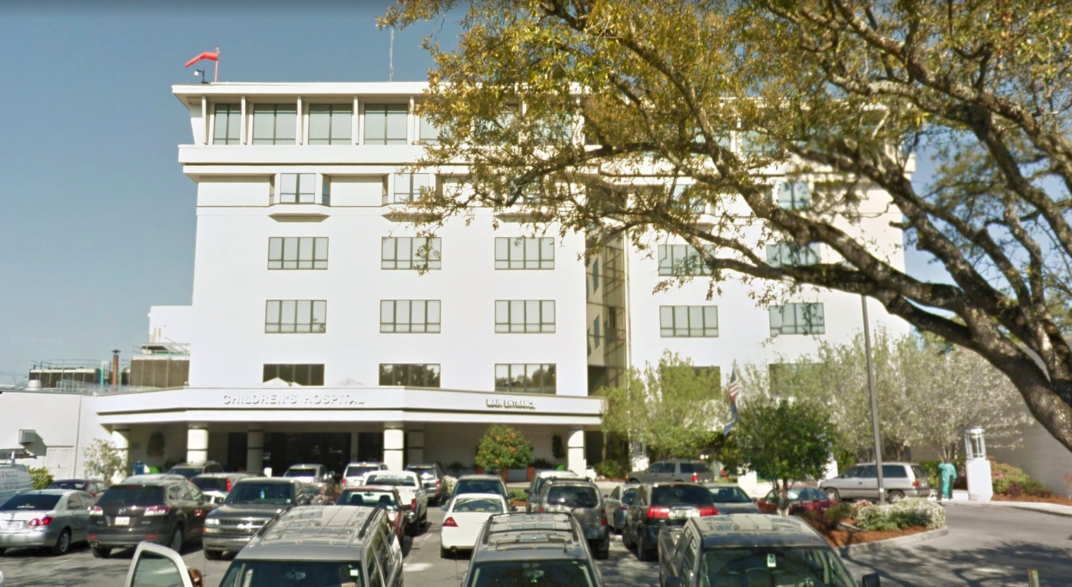 Children's Hospital of New Orleans. (Screenshot via Google Street View)