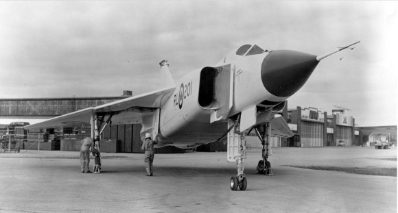 The Avro Arrow, Canada's cutting edge fighter jet, was controversially scrapped in 1959. (Canada Aviation and Space Museum/Raise the Arrow)
