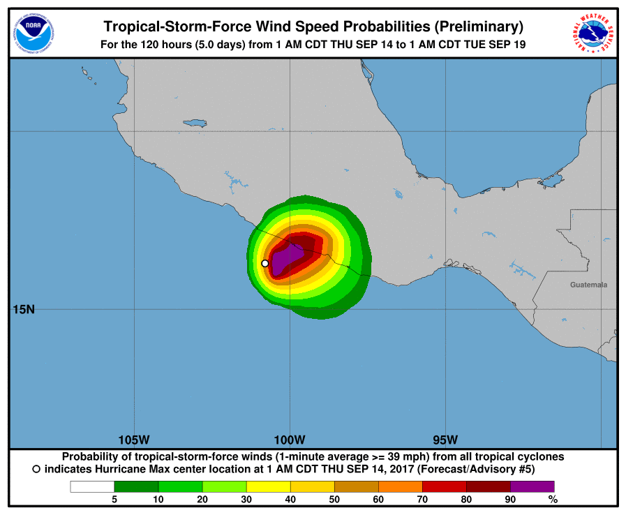 Hurricane Max Forms in Eastern Pacific Ocean, Poses Threat to Southwestern Mexico