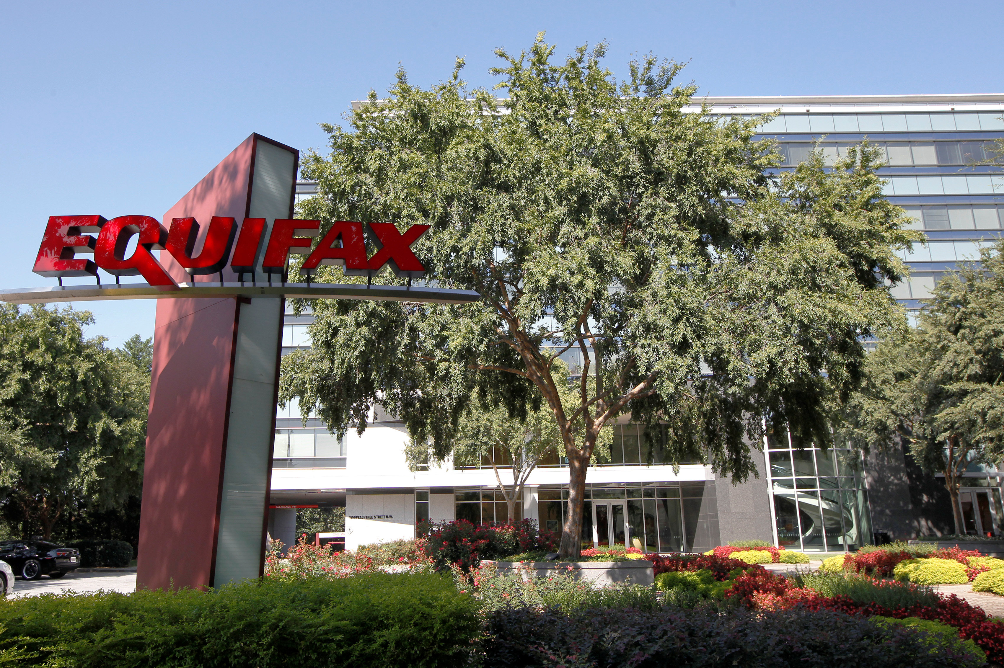 Credit reporting company Equifax  Inc. corporate offices are pictured in Atlanta, Georgia on Sept. 8, 2017. (REUTERS/Tami Chappell)