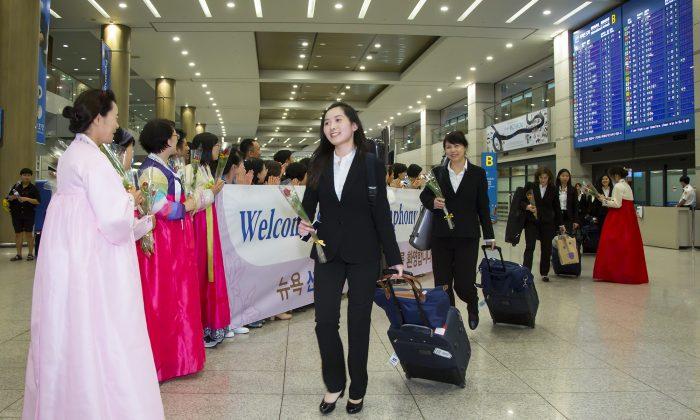 the Incheon International Airport on Sept. 16, 2017. (Quan Jinglin/Epoch Times)