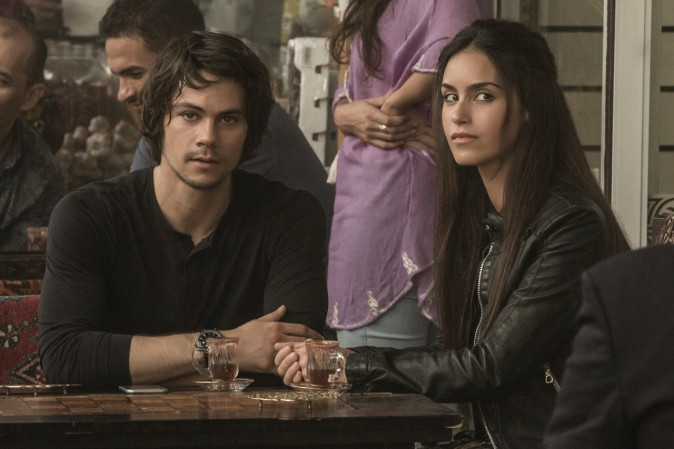 (L–R) Dylan O'Brien and Shiva Negar in
