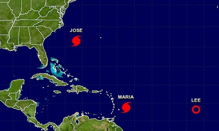 The 5 p.m. Sunday update on Hurricane Maria (NHC / NOAA)