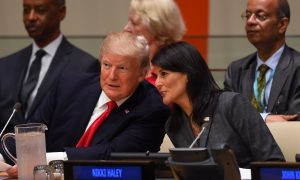 Haley Says US to Stay in Iran Nuclear Deal 'Right Now'