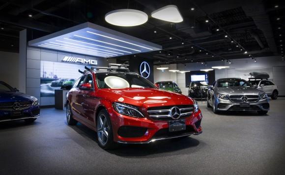 Interior Hero (Mercedes-Benz Canada)