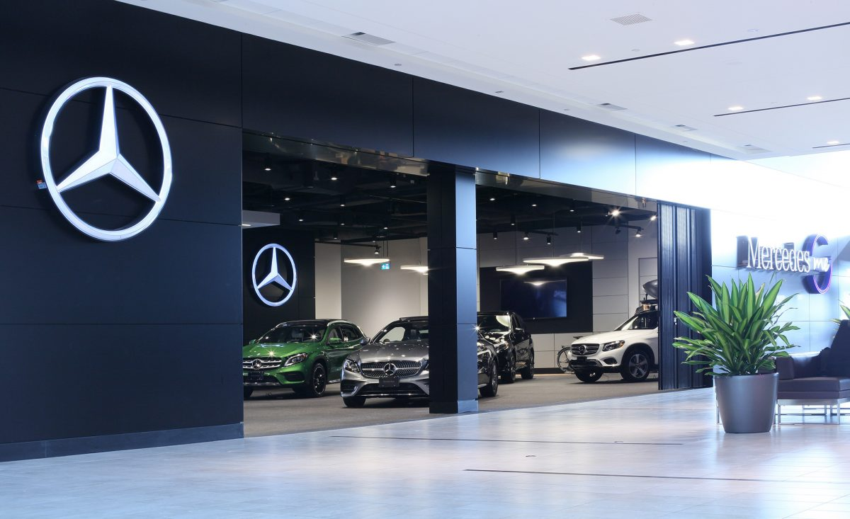 Mercedes benz canada introduces mercedes me retail space for Mercedes benz retail careers